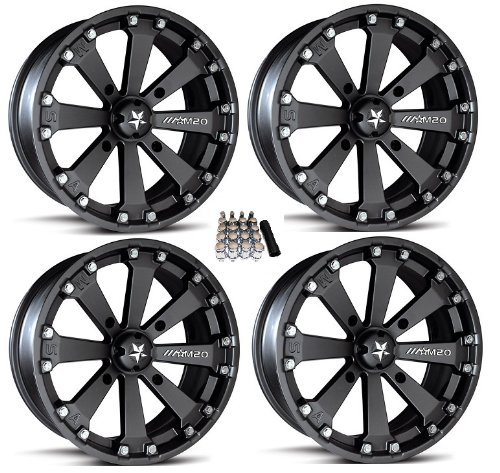 MSA M20 Kore ATV Wheels/Rims Black 14