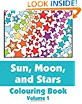 Sun, Moon, and Stars Colouring Book (...