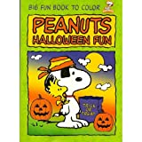img - for Peanuts Big Fun Book to Color : SNOOPY & Woodstock Cover - Trick or Treat ~ Halloween Fun (PEANUTS) book / textbook / text book