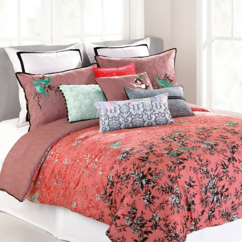 Coral Bedding Queen 6288 front