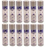 Car Paint U-Pol Power Can Grey Primer 12 x 500 ml Aerosols Spray Cans