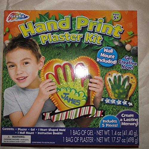 Hand Print Plaster Kit