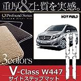 Hotfield ベンツ BENZ Vクラス (W447) サイドステップマット / プロフォンドブラック