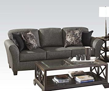 Demeter Sofa in Gray Finish by Acme Furniture