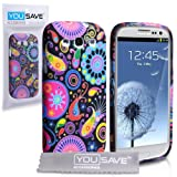Yousave Accessories Jellyfish Silicone Cover Case with Screen Protector for Samsung Galaxy S3by Yousave Accessories