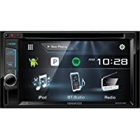 Kenwood 2-DIN Bluetooth CD/DVD/DM Receiver with 6.2