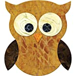 "Go! Fabric Cutting Dies-Owl 4""X4.5"""