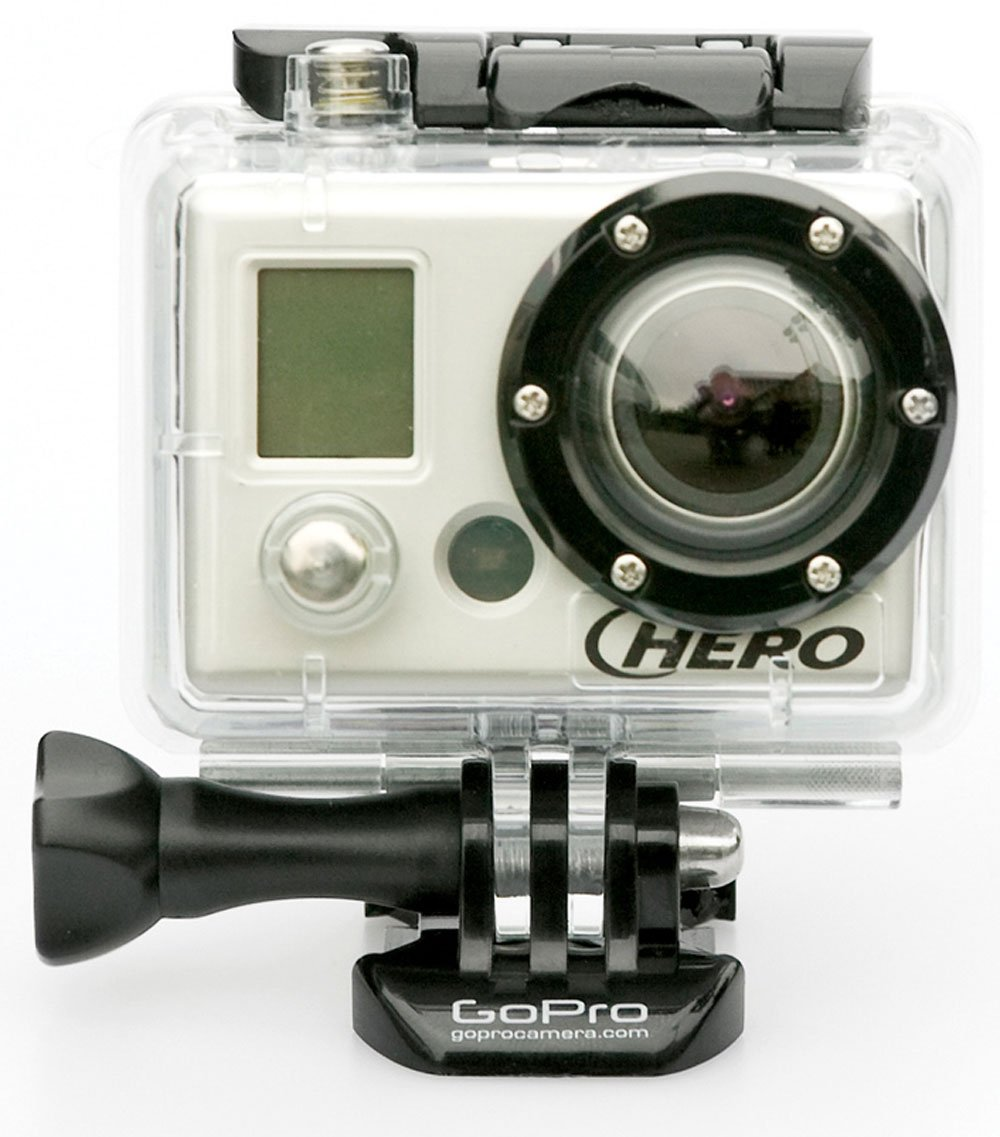 GoPro Action Camera Helmet Hero, black/clear,
