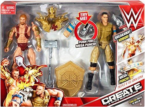 WWE Create A Superstar John Cena v Triple H Expansion Pack