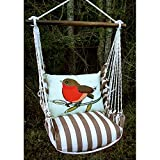 Magnolia Casual Peep Hammock Chair & Pillow Set