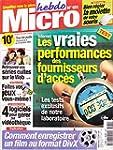 MICRO HEBDO N? 181 du 04-10-2001 INTE...