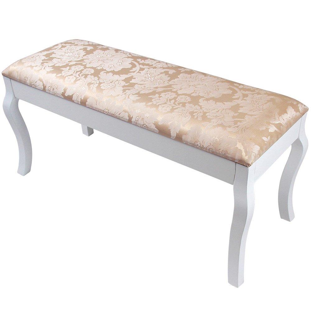 Doppelsitzbank Stuhl für Schminktisch in modern viktorianischem Stil    Überprüfung und weitere Informationen