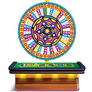 Wheel Of Fortune Casino Prop (both sheets create 1 prop) Party Accessory  (1 count) (2/Pkg)