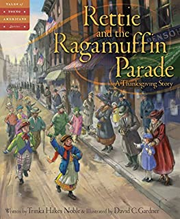Book Cover: Rettie and the Ragamuffin Parade: A Thanksgiving Story