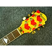 BURNY バーニー エレキギター MG-145S Heart Yellow