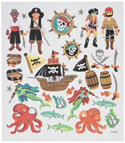 Multi-Colored Stickers-Sea Pirates