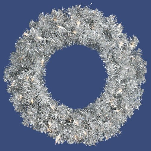 allstate-pre-lit-sparkling-silver-tinsel-artificial-christmas-wreath-with-clear-lights-24-by-allstat