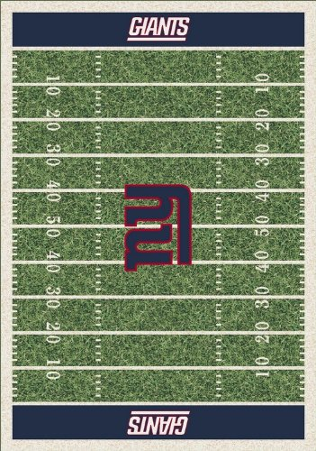 Milliken & Company New York Giants 7-Ft. 8-In. x 10-Ft. 9-In. Homefield Area Rug