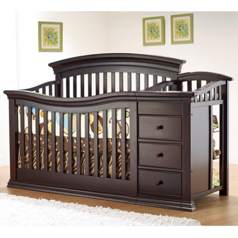 Sorelle Verona 4 in 1 Convertible Crib and Changer
