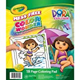 Crayola Color Wonder Dora Coloring Pad