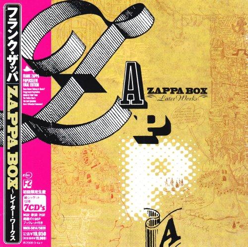 ZAPPA BOX レイター・ワークス(紙ジャケット仕様)