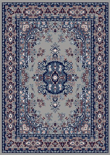Home Dynamix Area Rugs: Premium Rug: 7069: Silver 7' 9