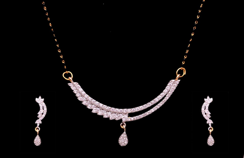 merican Diamond Mangalsutra