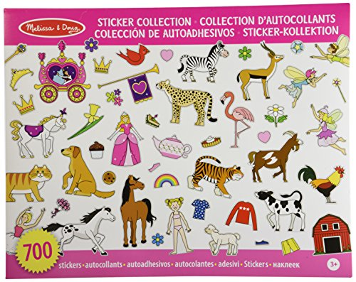 Melissa & Doug Sticker Collection - Pink (International) - 1