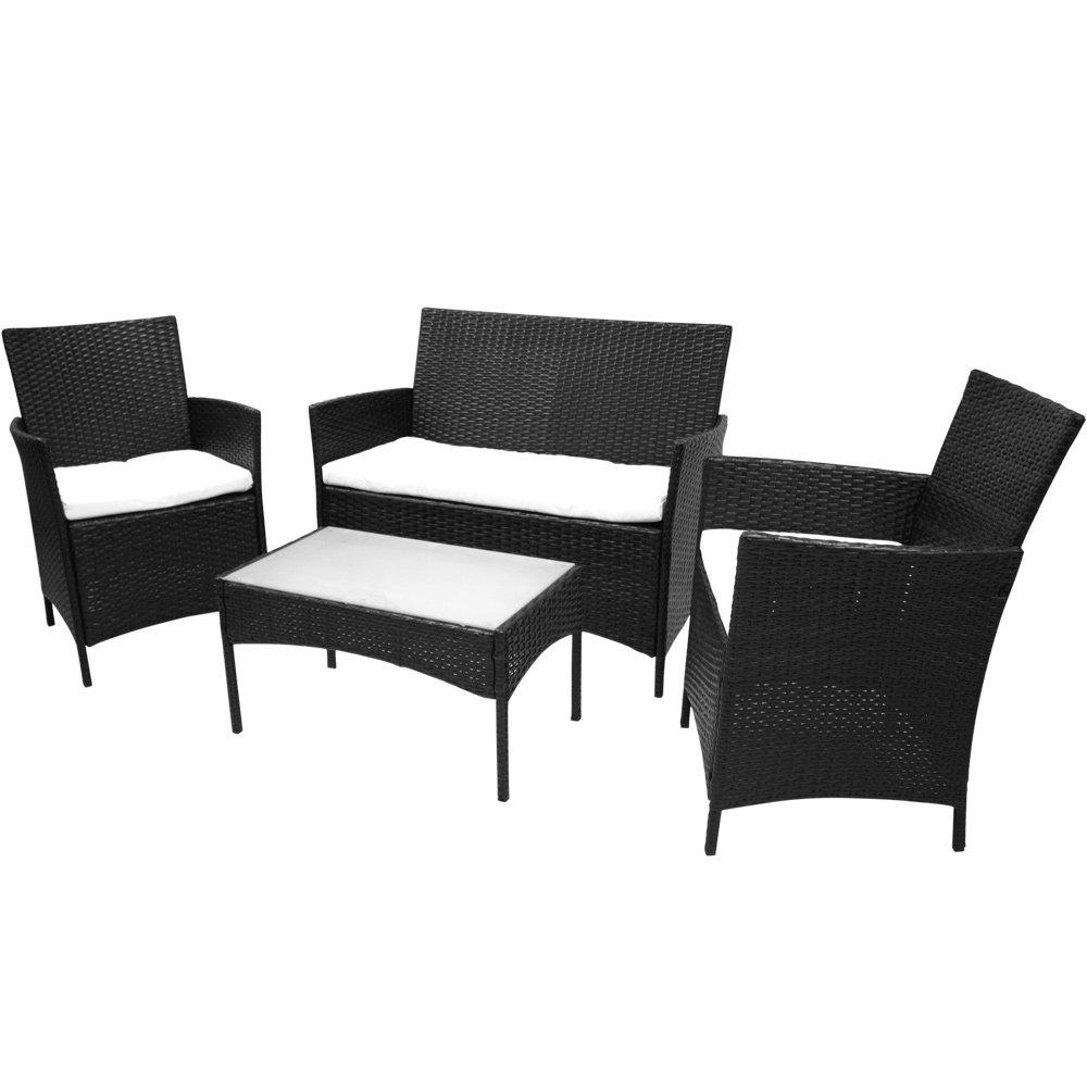 Polyrattan Sitzgruppe Antigua (schwarz) jetzt bestellen