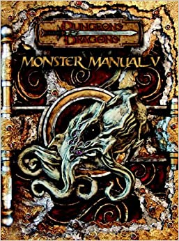 Monster Manual V (Dungeons & Dragons d20 3.5 Fantasy Roleplaying