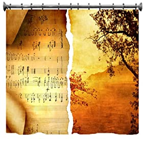 Autumn Melody Shower Curtain - 69