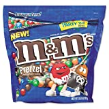 M & M's® - Candy, Chocolate/Pretzel, 30 oz - Sold As 1 Each - Chocolate with pretzel inside.