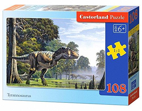 Castorland Tyrannosaurus Jigsaw (108-Piece)