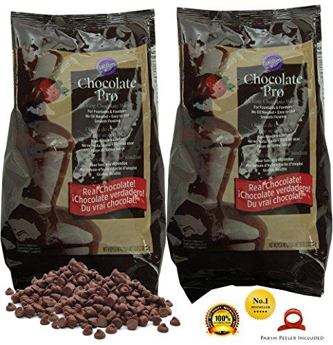 Wilton 2-Pack Chocolate Fondue Melting Wafers
