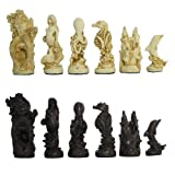 Mascott Direct Sea Life Crushed Stone Chess Pieces
