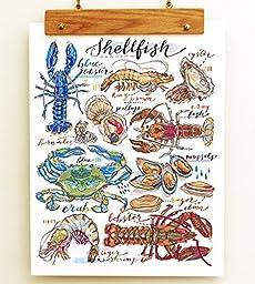 Shellfish Print