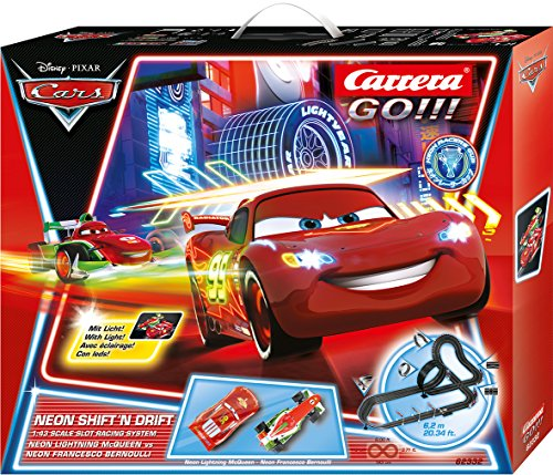 Carrera GO!!! Disney/Pixar Neon Shift'n drift 62332