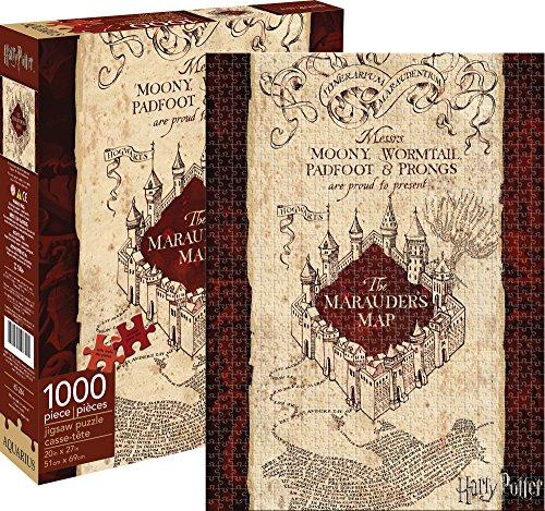 Aquarius Harry Potter Marauders Map Puzzle (1000 Piece) (1000 Piece Puzzle Harry Potter compare prices)