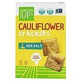 From The Ground Up, Cauliflower Crackers Sea Salt, 4 Ounce (Tamaño: 4 oz.)