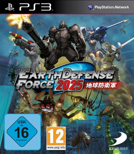Earth Defense Force 2025, PS3
