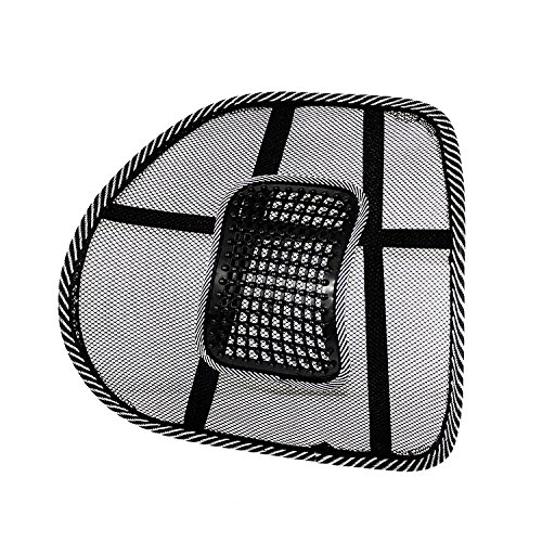 DFS's Premium CAR / CHAIR SEAT BACK REST with Mesh support (New Edition) – Car Seat, Office Chair Support