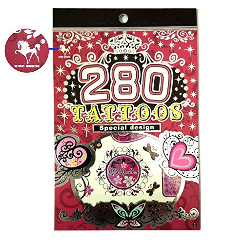 "Tapp Collectionsâ""¢ 280 Temporary Tattoos - F1 Style"