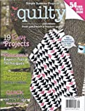 img - for Quilty Magazine (July/August 2013 (Simple Summer Projects)) book / textbook / text book