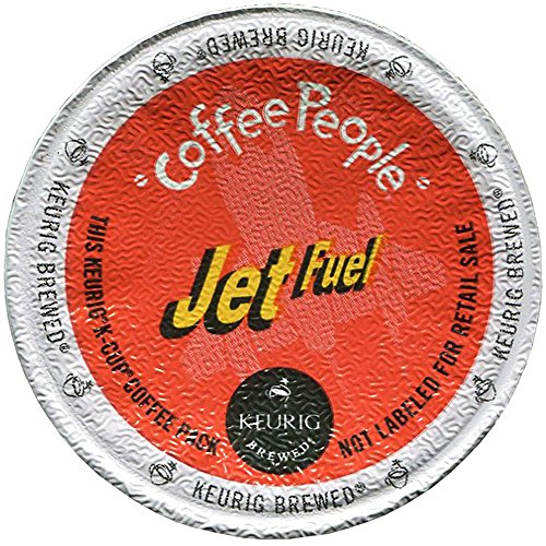 Coffee People Jet Fuel Dark Roast Coffee Keurig K-Cups, 18 Count (Fuel Coffee compare prices)