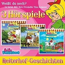Reiterhof-Geschichten (Bibi Blocksberg): 3 Hörspiele Hörspiel von Ulli Herzog, Elfie Donnelly Gesprochen von: Susanna Bonaséwicz, Eberhard Prüter, Hallgard Bruckhaus