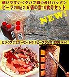 スターケバブのビッグファミリーセット 冷凍ケバブ10食(ビーフ10食)