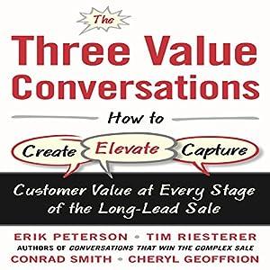 The Three Value Conversations Audiobook