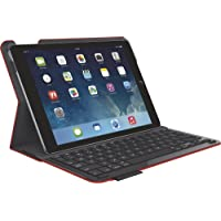 Logitech Keyboard Case for Apple iPad Air (Red) - Refurbished