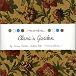 """Clara's Garden Moda Charm Pack By Kansas Troubles Quilters; 42 - 5"""" Quilt Squares"""