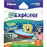 LeapFrog Explorer Game: SpongeBob SquarePants The Clam Prix (for LeapPad and Leapster)